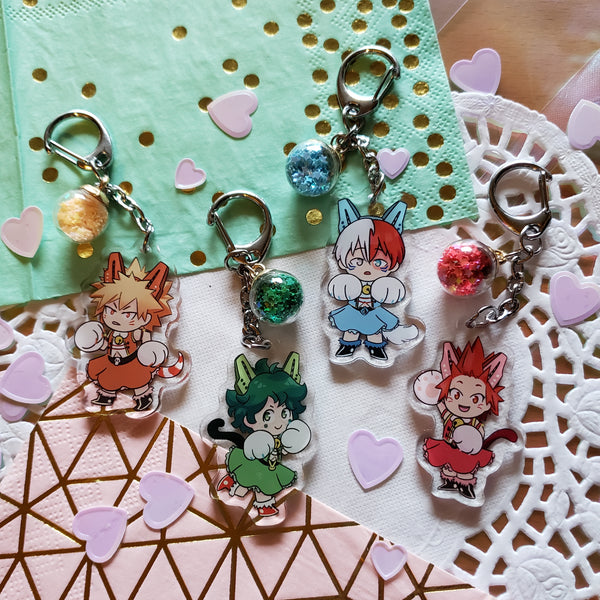 "BNHA - WWPussycats 2"" Acrylic Charms [Volumes 1 + 2]"