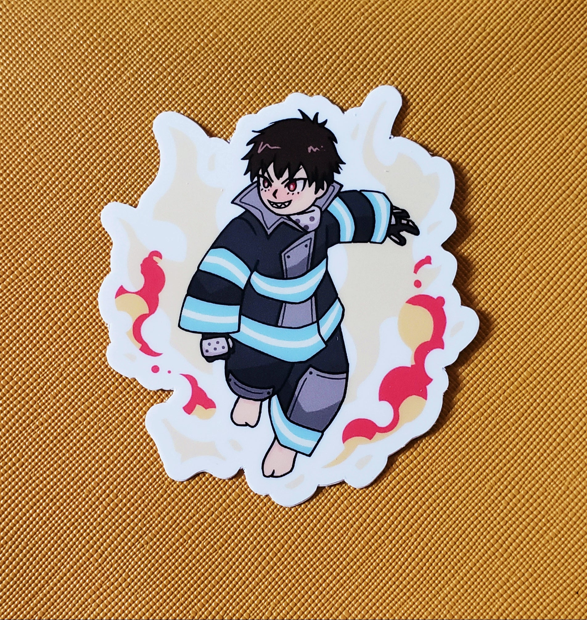 Shinra Vinyl Sticker