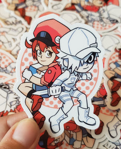 Cells at Work - Vinyl Sticker