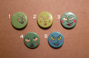 MP100 Dimple Ekubo Round Button Pins
