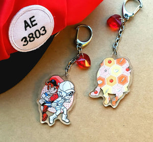"Cells at Work - 2"" Acrylic Charm"