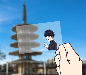 MP100 - Transparent Photo Card
