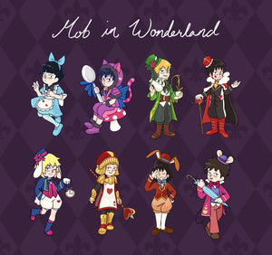 MP100 - Wonderland Acrylic Charms + Stickers