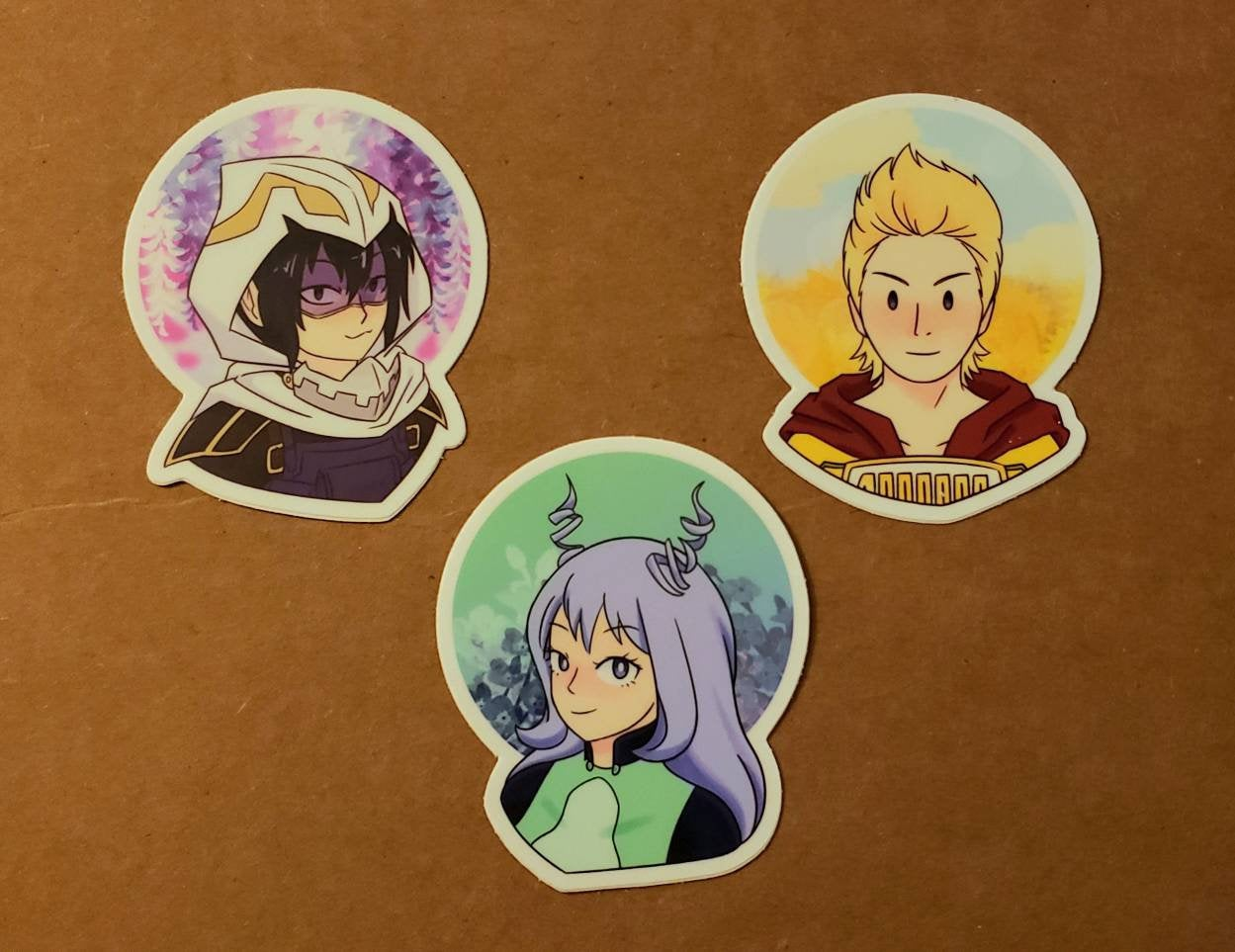 BNHA - Big 3 Vinyl Stickers