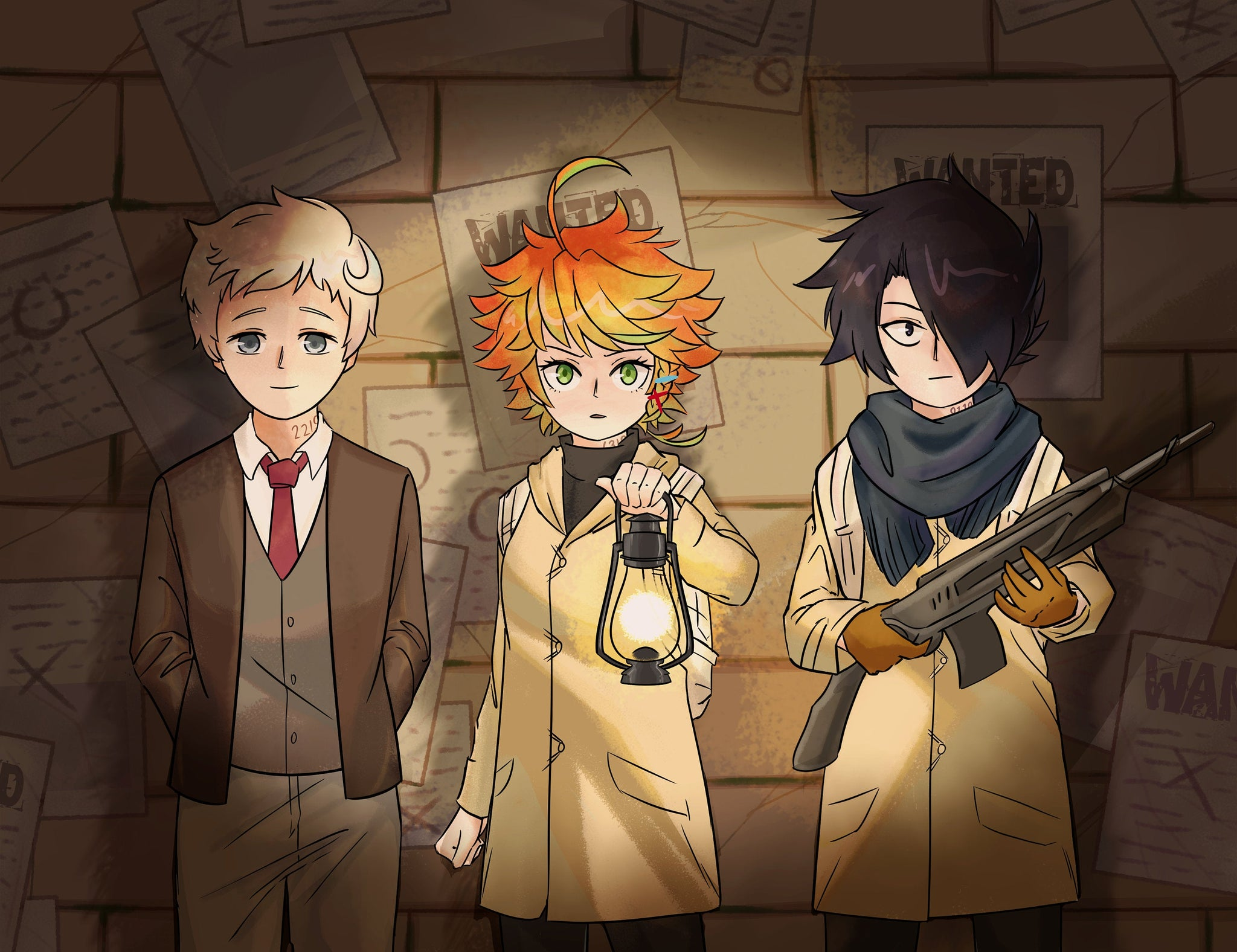 The Promised Neverland Regular Print