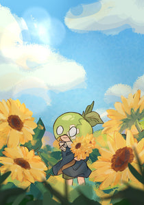 Dr Stone - Suika Sunflowers Regular Print
