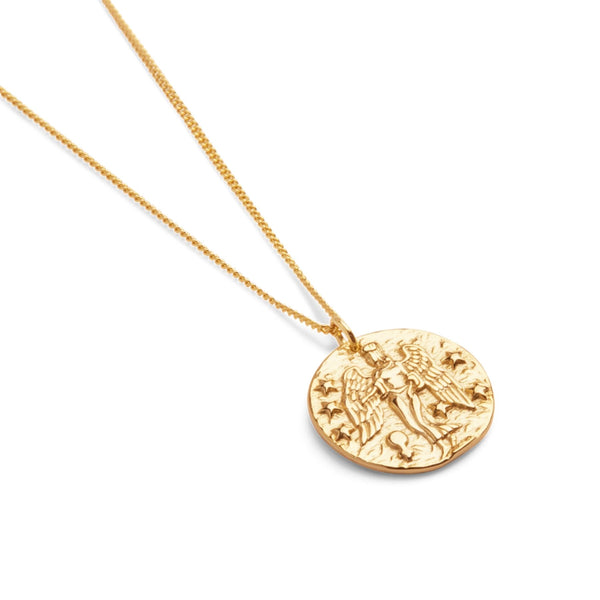 Guardian Angel Necklace in Gold