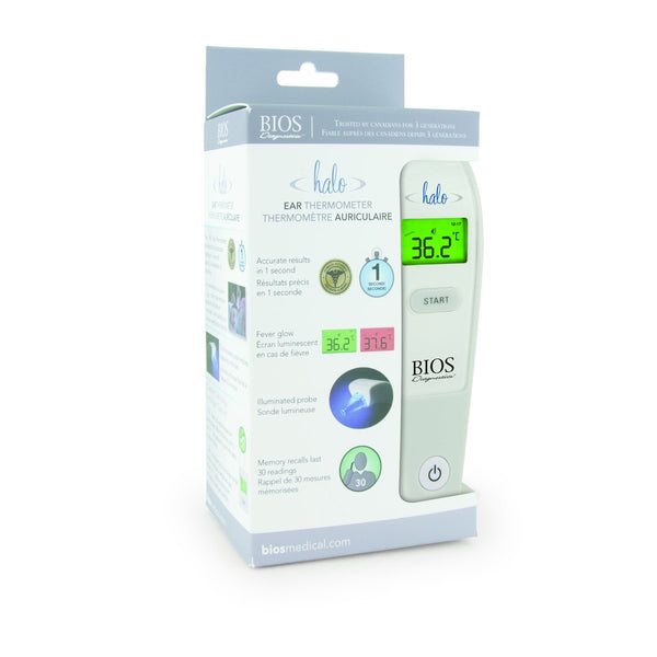 "Bios ""Halo"" 1 Second Ear Thermometer"