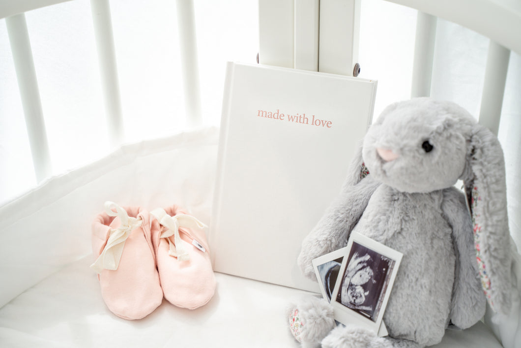 made with love - pregnancy journal