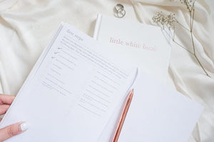 little white book - wedding planner