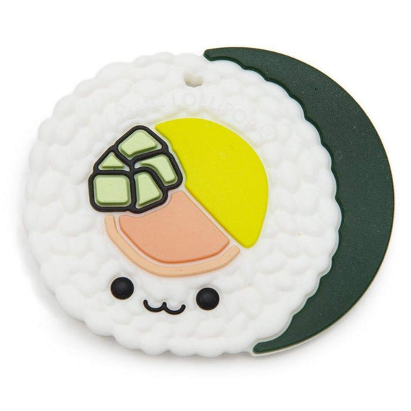 Silicone Teether ~ Sushi Roll - Little Gumnut Co.