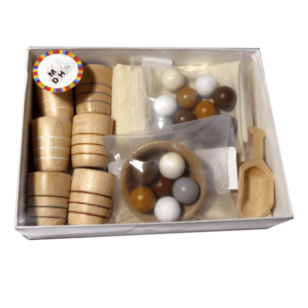 Wooden Berry Colour Sort & Scoop Counting Set - Little Gumnut Co.
