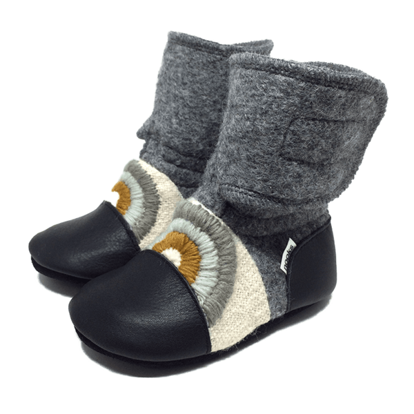 Wool Booties ~ Cove - Little Gumnut Co.