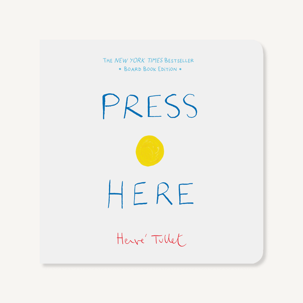 Press Here ~ by Herve Tullet - Little Gumnut Co.