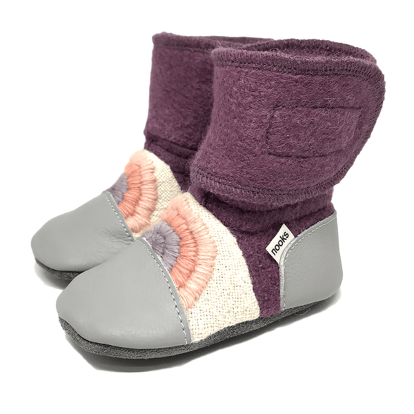 Wool Booties ~ Dream On - Little Gumnut Co.