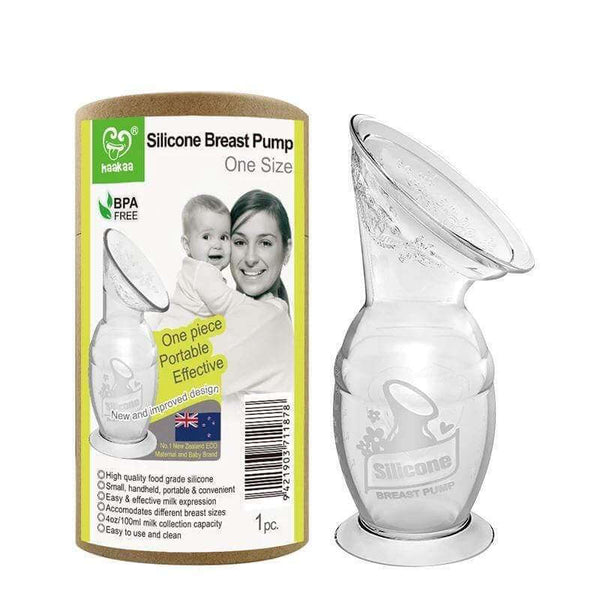 Silicone Breast Pump with Base ~ 100ml - Little Gumnut Co.