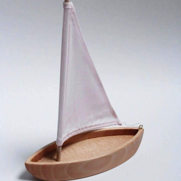 Wooden Toy Sailboat - Little Gumnut Co.