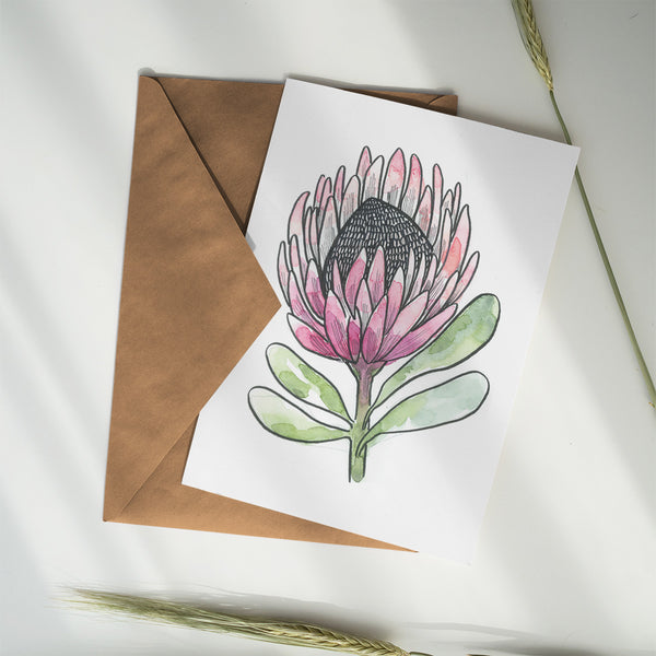 Greeting Card ~ Flower - Little Gumnut Co.