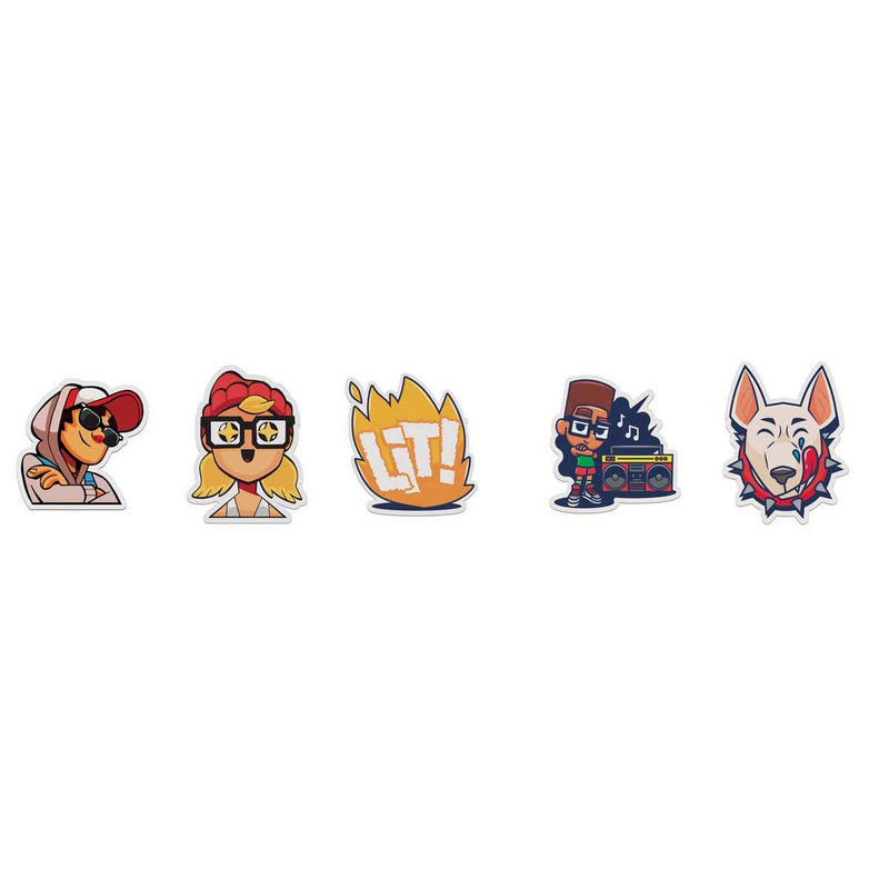 Subway Surfers - Sub Surf Shorties Top Run Series - 5-Pack