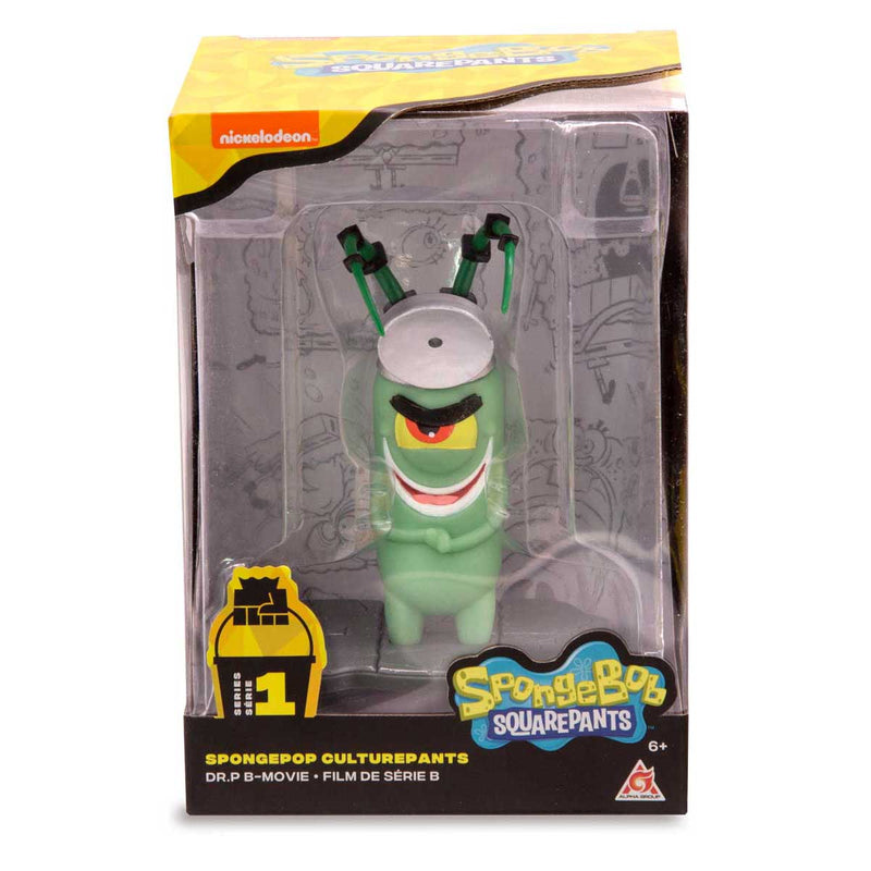 SpongeBob SquarePants - SpongePop CulturePants - B-Movie Plankton