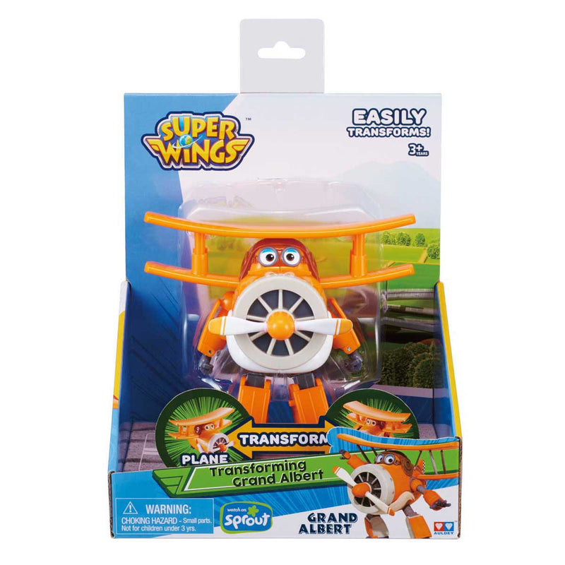 Super Wings - Transforming  Grand Albert