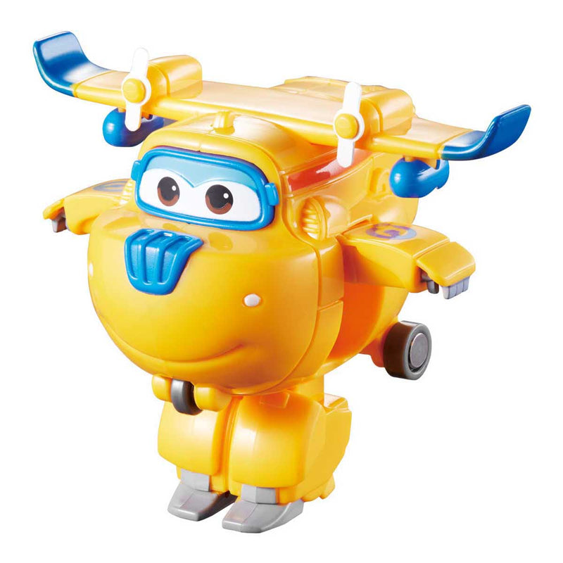 Super Wings - Transform-a-Bots 4pk - Donnie, Dizzy, Jerome, and Bello