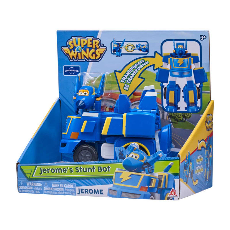 Super Wings - Transforming Vehicles - Jerome