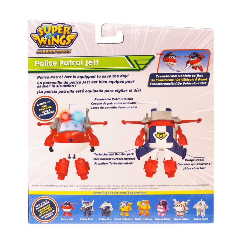 Super Wings - Police Patrol Jett