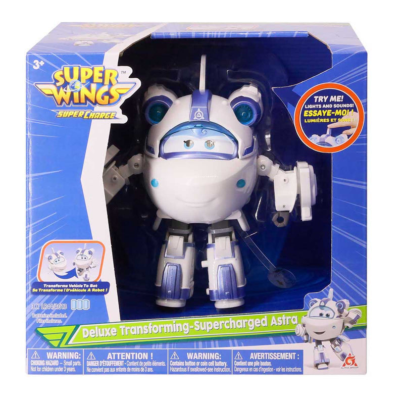 Super Wings - Deluxe Transforming- Supercharged Astra