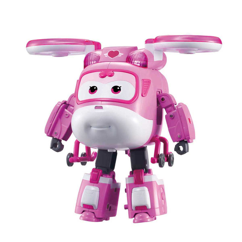 Super Wings - Deluxe Transforming- Supercharged Dizzy