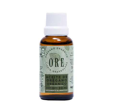 Aceite de oregano puro 30 ml