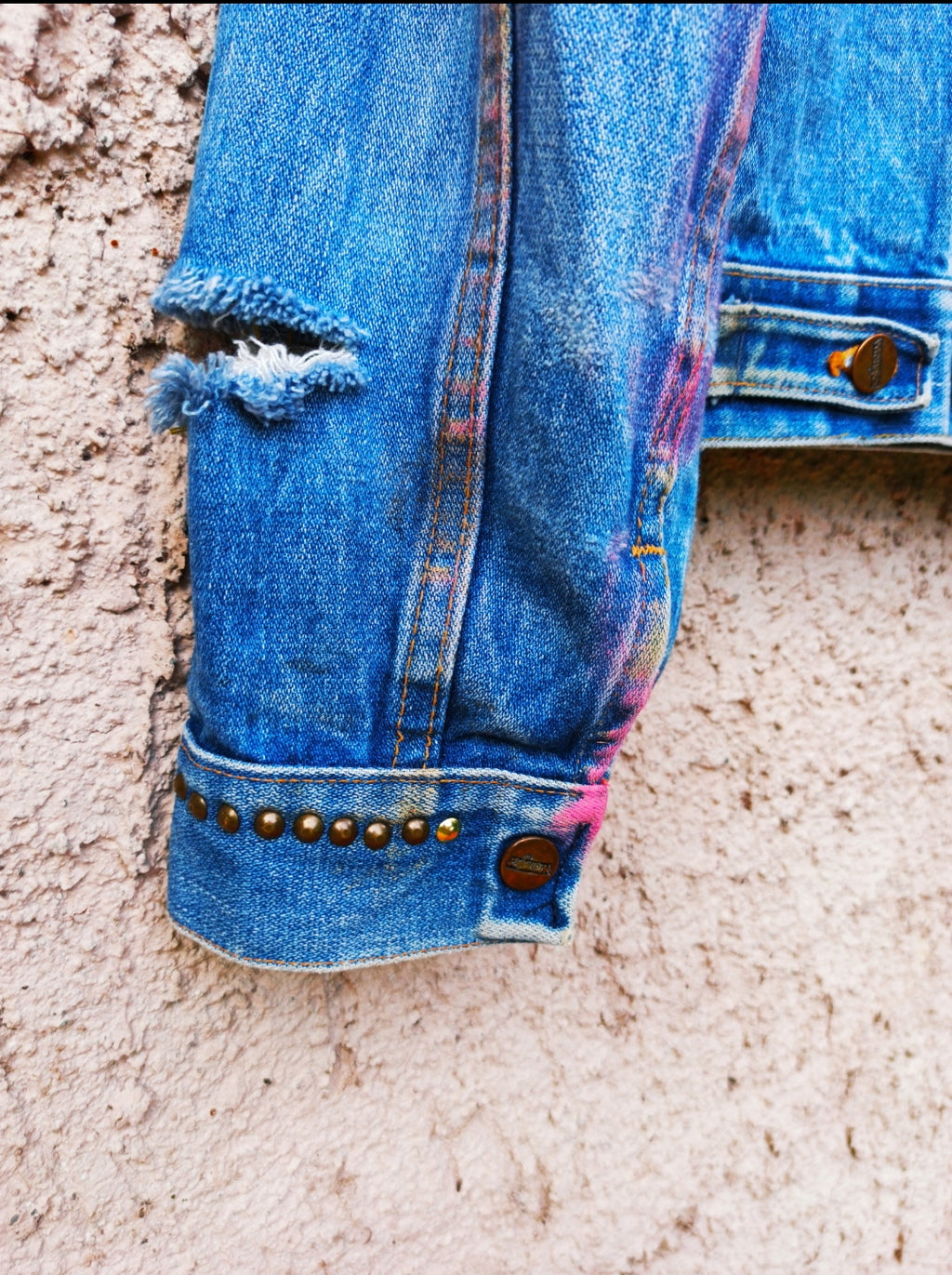 Customized WRANGLER Denim Jacket