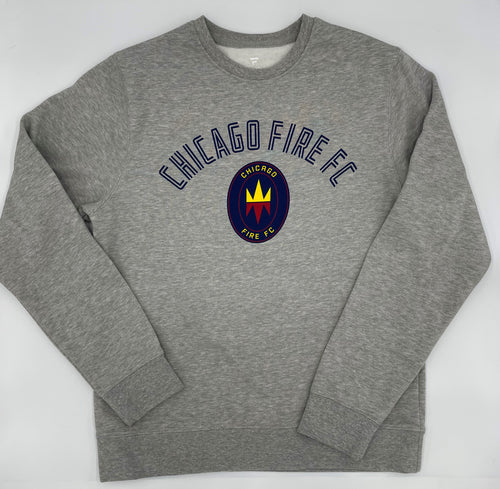 Men's Chicago Fire Fanatics Branded Touchline Arc Fleece
