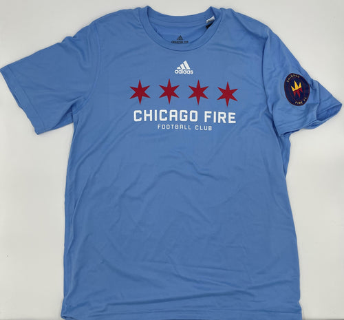 Men's Chicago Fire FC adidas Chicago Star Tee