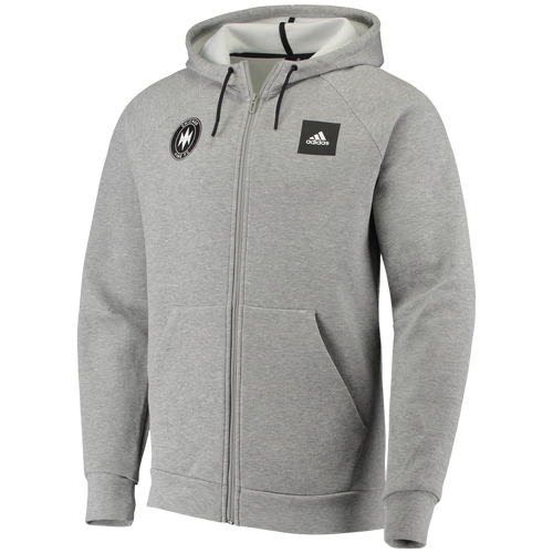 Men's Chicago Fire Must Have Performance Full Zip Hood-Gray