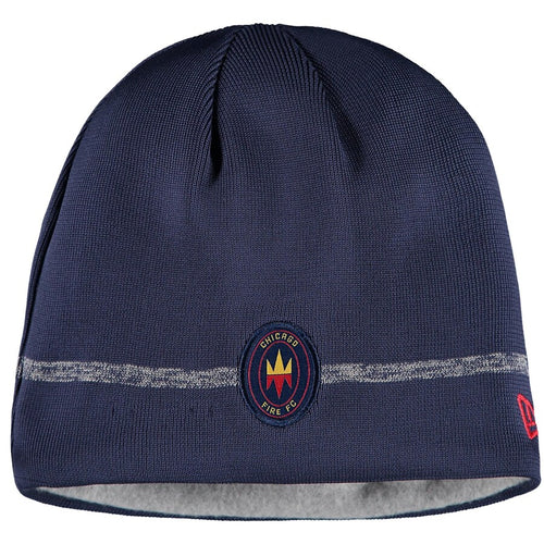 Men's Chicago Fire New Era On-Field 20' Blue Team Beanie