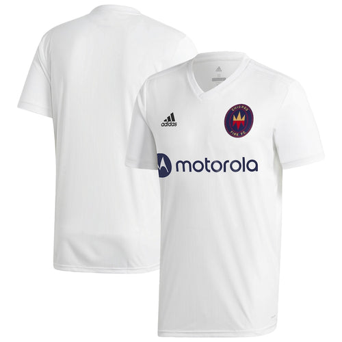 Men's Chicago Fire Replica Secondary Jersey 2020 White