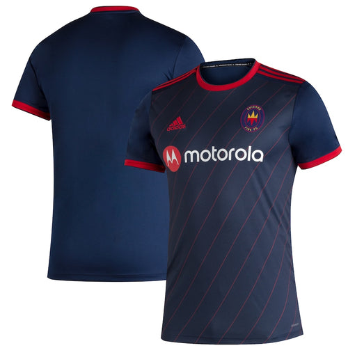 Youth Chicago Fire Replica Primary Jersey 2020 Navy