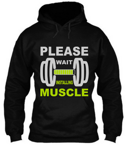 Please wait Installing Muscle - Unisex Tee