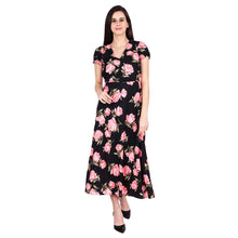 Load image into Gallery viewer, Women's Printed Maxi Dress