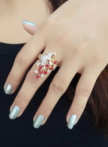 Trendy Brass Ring for Women