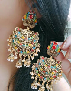 Stylish Oxidized Earrings For Women