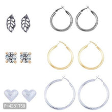 Load image into Gallery viewer, Alluring Alloy American Diamond Earrings For Women