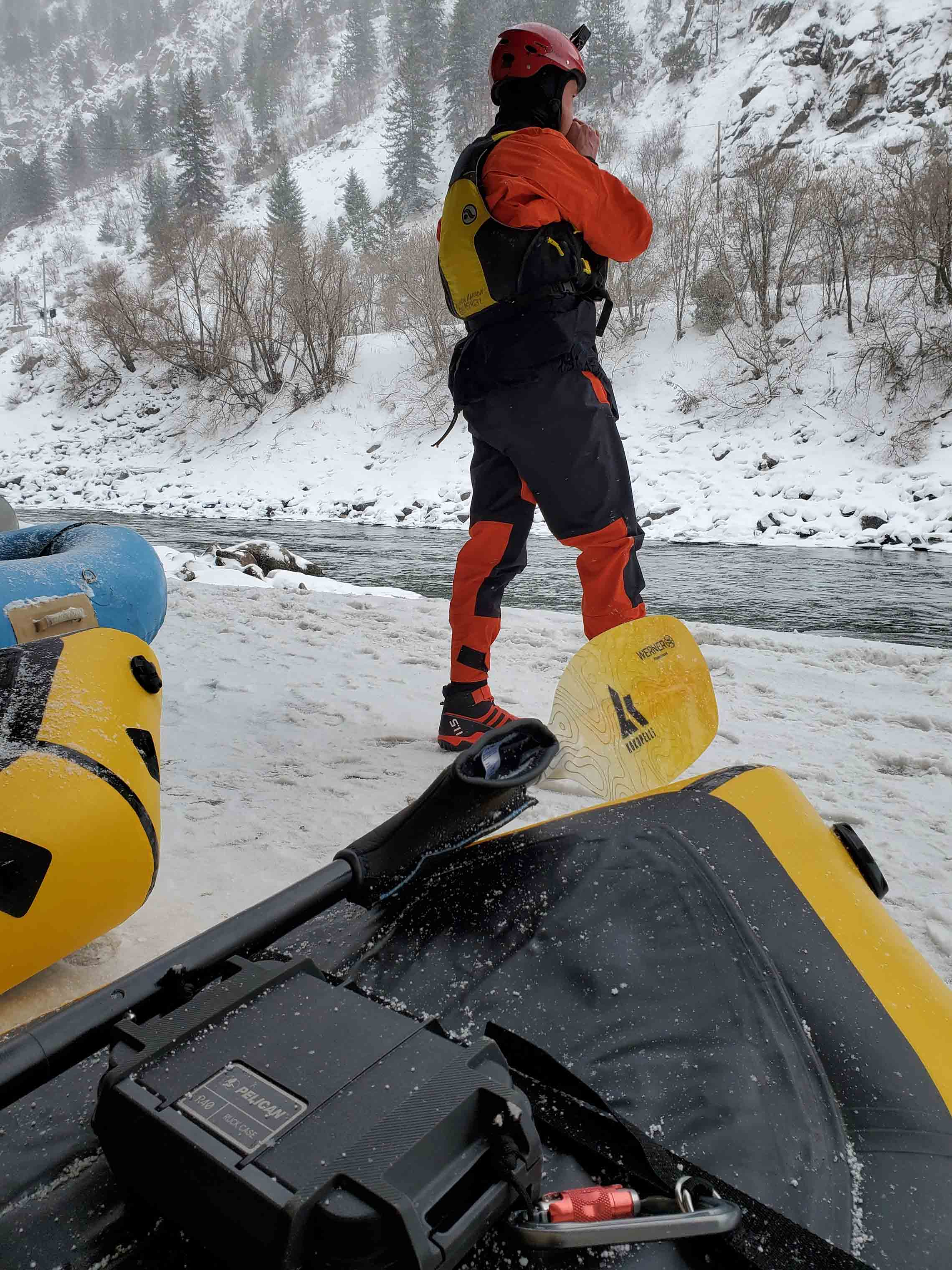 Cold Weather Packrafting Safety Kokopelli