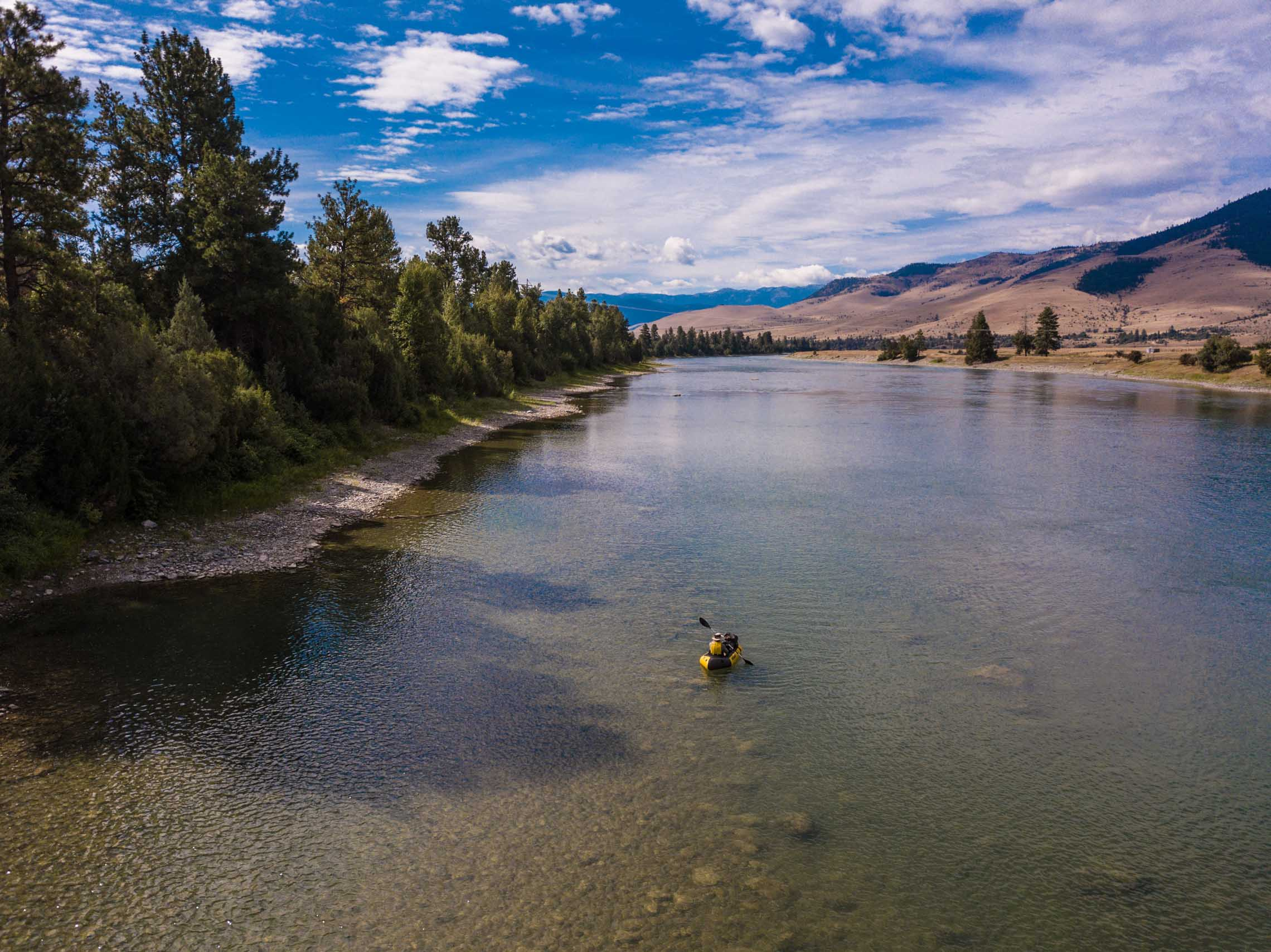 Portaging in a packraft. Things you can do in a Kokopelli packraft