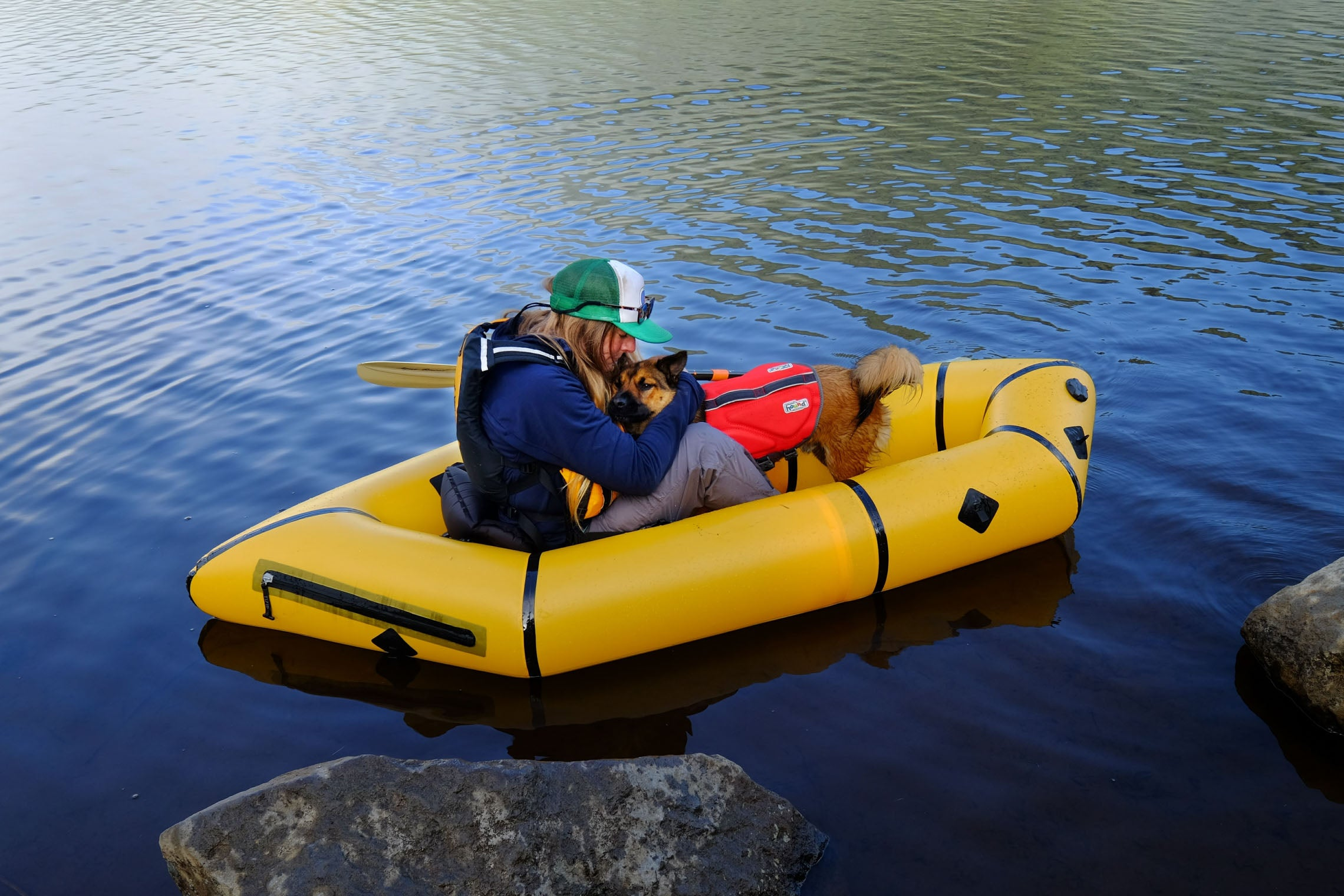 Tips for Packrafting with Your Dog Kokopelli