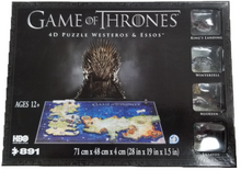 Load image into Gallery viewer, Game of Thrones 4D Puzzle Westeros & Essos