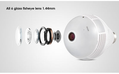 Spot Lighting LED Light 960P CCTV (360 Degree)