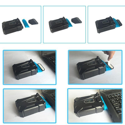 Portable Notebook Vacuum Cooler