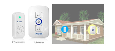 KERUI M525 Home Security Welcome Wireless Doorbell